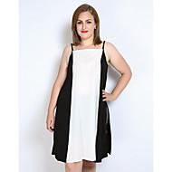 Veći konfekcijski brojevi Potkošulja Žene - Vintage Klub Color block Kolaž S naramenicama S izrezom
