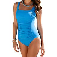 Dame Plusstørrelser Med stropper En del - Ensfarvet Underbukser
