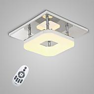 billige Taklamper-Takplafond Omgivelseslys - LED, 90-240V, Varm Hvit / Hvit / Dimbar med fjernkontroll, LED lyskilde inkludert / 20-30㎡ / Integrert LED