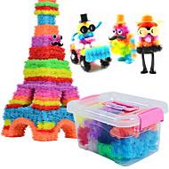 DIY 키트 인형 조립식 블럭 3D퍼즐 공 교육용 장난감 과학&디스커버리 완구 차량 어른용 장난감 여행용 게임 로직&퍼즐 장난감 장난감 광장 구 하트 모양 눈 규정되지 않음 남여 공용 조각