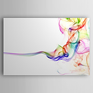 halpa -Hang-Painted öljymaalaus Maalattu - Abstrakti Nykyaikainen Tateellinen tyyli Kangas