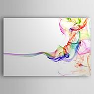 baratos -Pintura a Óleo Pintados à mão - Abstrato Moderna Estilo Artístico Tela de pintura