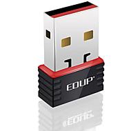 Edup usb adaptor wireless wifi 150mbps mini wifi dongle rețea lan card ep-n8508