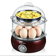 Kitchen Double-deck Egg Cooker Food Steamers Breakfast Machine