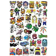 스케이트보드 스티커 스티커 & 데칼 20.0*18.0*0.5 cm 50 팩 트레이너 용 스케이트 보드