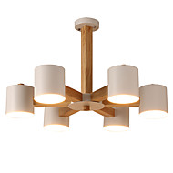billige Takbelysning og vifter-LightMyself™ 6-Light Candle-stil Lysekroner Nedlys - LED, 220-240V / 100-120V Pære ikke Inkludert / 15-20㎡ / E26 / E27