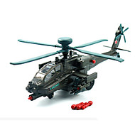 ieftine Toy Helicopters-KDW Μοντέλα και κιτ δόμησης Vehicul cu Tragere Elicopter Jucarii Aeronavă Mașină Elicopter Aliaj Metalic Bucăți Unisex Cadou