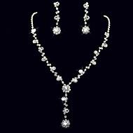 Žene Komplet nakita Umjetno drago kamenje Umjetno drago kamenje Legura Ispustiti Divan Vjenčanje Party godišnjica Rođendan 1 Ogrlica 1