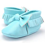 お買い得  ベビー用靴-女の子 靴 マイクロファイバー 秋 赤ちゃん用靴 ローファー&スリップアドオン リボン / タッセル のために 子供用 アーモンド / ライトピンク / ライトグリーン / パーティー