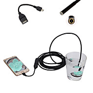 Android Mobile Phone Endoscope 5.5mm Lens 0.3 Mega Pixel HD Waterproof LED Computer Universal 3m Long Flexible Cord