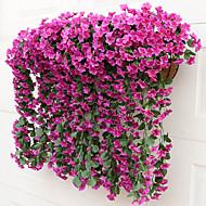 Kunstige blomster 1 Gren Pastorale Stilen Planter Veggblomst