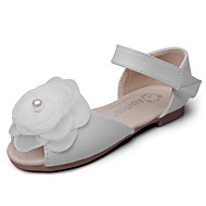 tanie Obuwie dziewczęce-Dla dziewczynek Sandały Comfort Buty dla małych druhen Derma Wiosna Jesień Formalne spotkania Impreza / bankietComfort Buty dla małych