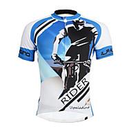 Biciklistička majica Muškarci Mužjak Kratkih rukava Bicikl Biciklistička majica MajiceΠοδηλασία Quick dry Ultraviolet Resistant Lagani