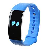 tanie Inteligentne zegarki-Inteligentne Bransoletka Pulsometr Spalone kalorie Krokomierze Śledzenie odległości Informacje Pomiar ciśnienia krwi Sportowy Rejestrator