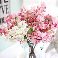 20inch 1 şube ipek sakura yapay çiçekler ev dekorasyonu