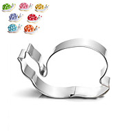 Snail Worm Cookies Cutter Stainless Steel Biscuit Cake Mold Metal Kitchen Fondant Baking Tools
