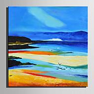 billiga Landskapsmålningar-Hang målad oljemålning HANDMÅLAD - Landskap Retro Duk
