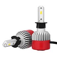 economico Luci per auto-2pcs H3 Auto Lampadine 36W LED integrato 3600lm LED Lampada frontale