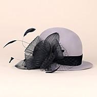 headpiece de chapéus com imitação de pérolas / strass casamento / festa headpiece