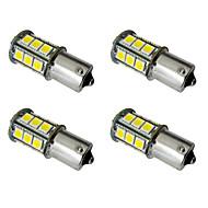 4stk 1156 / 1157 Bil Elpærer 2.5W SMD 5050 200lm LED utvendig Lights