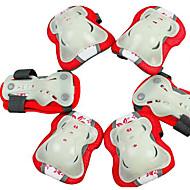 아동 무릎 보호대 용 스케이트보드 쉬운 드레싱 손쉬운 통증 내구성 농화 1 세트 스포츠