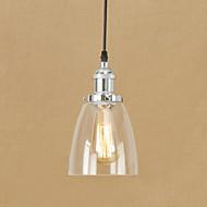 anheng lys moderne / moderne retro for mini stil glass lampeskjerm stue soverom spisestue