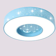Modern Contracted Warm Bedroom Boy Girl Children Bedroom The Bedroom Led Absorb Dome Light Tool