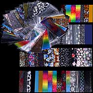 48 נייל ארט מדבקה לסכל קלטת עקירה קוסמטיקה איפור נייל אמנות עיצוב