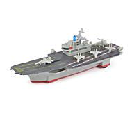hesapli Oyuncak Tekneler-Oyuncaklar Modely Uçak Gemisi Oyuncaklar Uçak Gemisi Metal Alaşımlı Parçalar Unisex Hediye