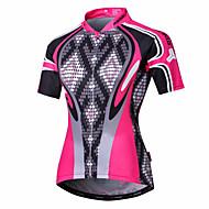 Malciklo Mujer Maillot de Ciclismo Bicicleta Camiseta / Maillot Trajes de Yoga Deportes Poliéster Coolmax® Serpiente Ciclismo de Montaña Ciclismo de Pista Ropa / Secado rápido / Diseño Anatómico