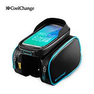 CoolChange Mobilní telefon Bag 5.7 inch Dotyková obrazovka Cyklistika pro Samsung Galaxy S6 / iPhone 5C / iPhone 4 / 4S / iPhone 8/7/6S/6