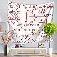 tanie Dekoracje ścienne-Szkoła / Graduation Dekoracja ścienna 100% Polyester Wzorzysty Twórczy Aktywny Wall Art, Ścienne Gobeliny Dekoracja