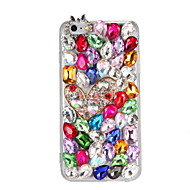 billiga Mobil cases & Skärmskydd-fodral Till iPhone 7 / iPhone 7 Plus / iPhone 6s Plus Strass / GDS (Gör det själv) Skal 3D-seriefigur / Glittrig Hårt PC för iPhone 7 Plus / iPhone 7 / iPhone 6s Plus