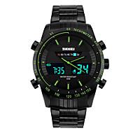 billige Sportsur-Herre Digital Unik Creative Watch Armbåndsur Smartur Sportsur Kinesisk Kalender Kronograf Glide Regel Vandafvisende Selvlysende i mørke
