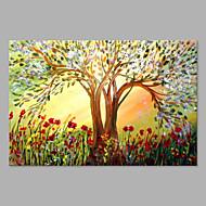 Hang oslikana uljanim bojama Ručno oslikana - Cvjetni / Botanički Umjetnički Platno