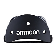 Ammoon eliptic cajon caseta toba insotitor accesoriu picior jingle tamburina pentru instrumente de percutie mana negru