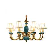 billige Takbelysning og vifter-8-Light Candle-stil Lysekroner Opplys - Mini Stil, designere, 110-120V / 220-240V Pære ikke Inkludert / 10-15㎡