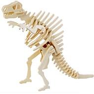 hesapli Modeller ve Model Kitleri-3D Yapbozlar Yapboz Ahşap Modeller Hayvanlar Kendin-Yap Tahta Doğal Ahşap Çocuklar için Yetişkin Unisex Hediye