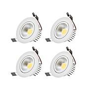 billige Innfelte LED-lys-6W 1 LED Mulighet for demping Led-Nedlys Varm hvit / Kjølig hvit 110-220V Garasje / Oppbevaringsrom / grovkjøkken / Entré / trapper