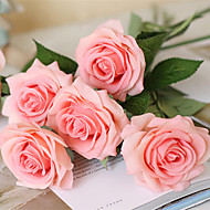 10 Branch High Simulation True Touch Rose Home Decoration Artificial Flowers