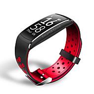 tanie Inteligentne zegarki-Inteligentne Bransoletka Ekran dotykowy Pulsometr Wodoszczelny Spalone kalorie Krokomierze Długi czas czuwania Wielofunkcyjne Informacje