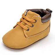 お買い得  ベビー用靴-女の子 靴 レザーレット 春 コンフォートシューズ フラット コンビ / ゴア のために ダークブルー / ピンク / カーキ色