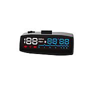 2017 nieuwste 4f auto obd2 ii handschakelaar hud km / h mph snelheidsoverschrijding waarschuwing voorruit projector alarmsysteem head up