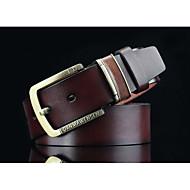 Masculino Vintage Casual Fashion Liga Cinto para a Cintura
