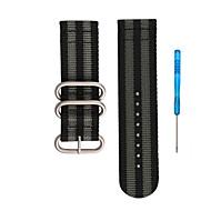 billiga Smart klocka Tillbehör-Klockarmband för Fenix 5x Fenix 3 Garmin Sportband Nylon Handledsrem