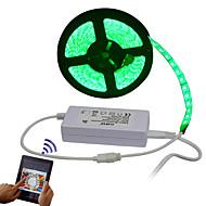 levne LED pásková světla-RGB pásky 300 LED diody Dálkový ovladač Ořezatelný Stmívatelné Voděodolné 100-240V