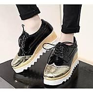"""נשים נעלי ספורט נוחות רשת נושמת אביב קיץ קזו'אל לבן שחור אדום ס""""מ 2.54 - ס""""מ 4.45"""