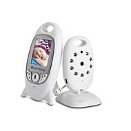 billiga Babymonitorer-Vb601 baby monitor 2.4g trådlös högkvalitativ visning tvåvägs ljud nattsyns temperatur övervakning