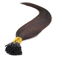 16 18 20 22 24 Inches Pre Bonded I Tip Hair Extensions 100 Strands Kerentin Fushion Remy Human Hair Extensions Straight Style 40-50G/PACK