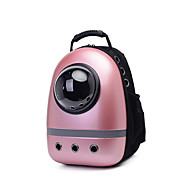 Cat Dog Carrier & Travel Backpack Pet Carrier Portable Breathable Solid Blushing Pink Purple
